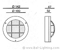 Bel Lighting Bel Lighting Cobus B Buitenverlichting