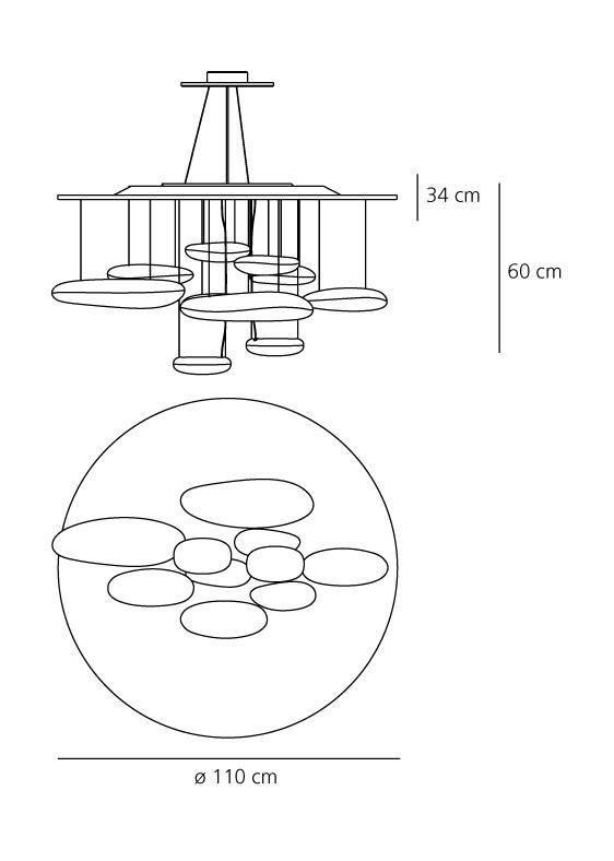 Artemide Mercury suspension