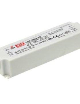 Lucente Meanwell Leddriver 60W 24V IP67 dimbaar
