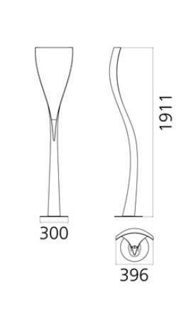 Artemide Artemide Solium Stehleuchte