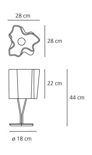 Artemide Logico Mini table