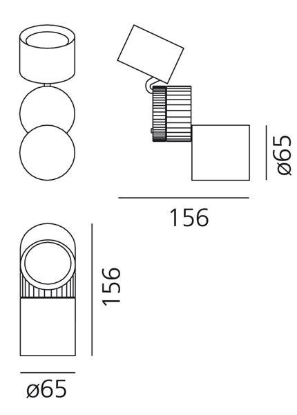Artemide Objective Wall