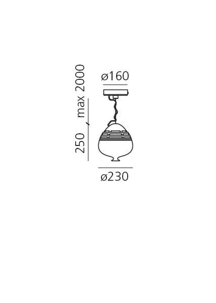 Artemide Invero 214 suspension