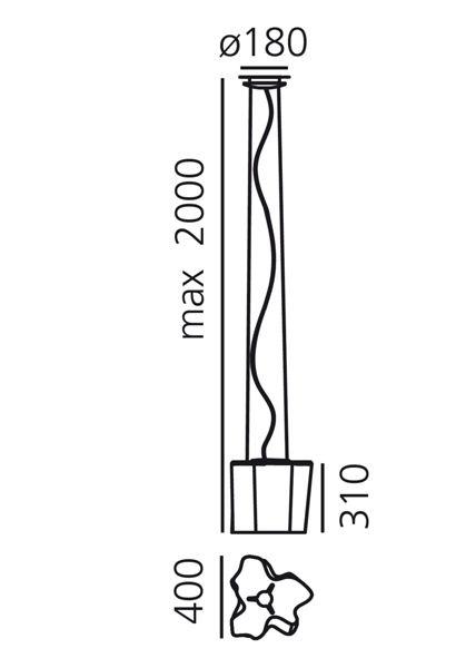 Artemide Logico suspension