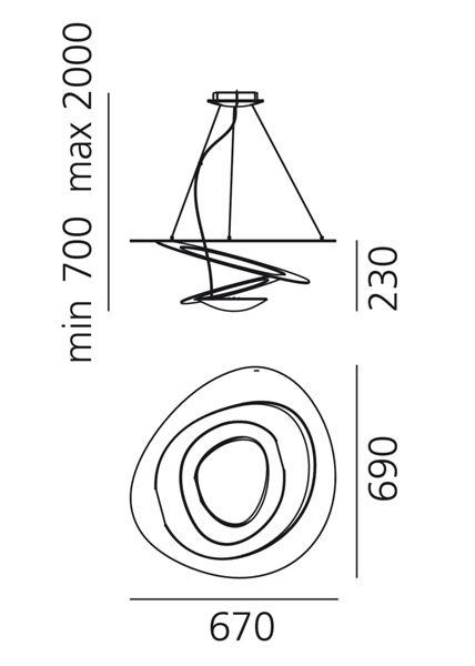Artemide Pirce Mini suspension