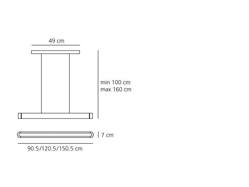 Artemide Talo 150 Led suspension dimbaar