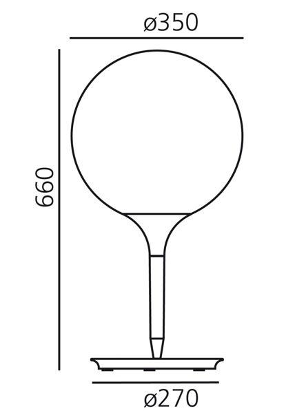 Artemide Artemide Castore 35 tafel