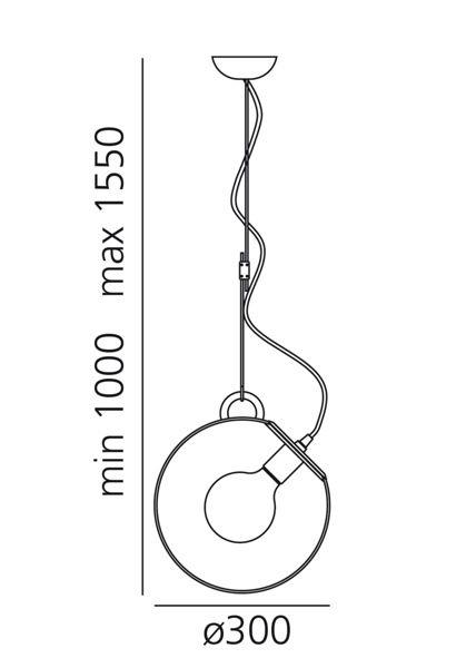 Artemide Artemide Miconos Hängelampe