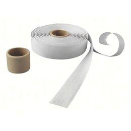 DynaLok Haakband plakbaar, 20 mm. breed, wit