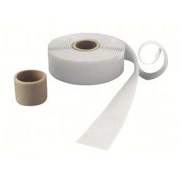DynaLok Haakband plakbaar, 25 mm. breed, wit