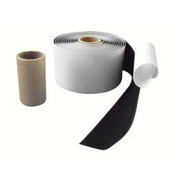 DynaLok Haakband plakbaar acr, 50 mm. breed, zwart