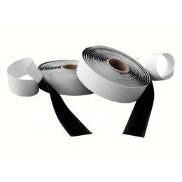 DynaLok Klittenband plakbaar acr, 20 mm. breed, zwart