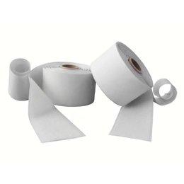 Klittenband plakbaar, 50 mm., breed, wit