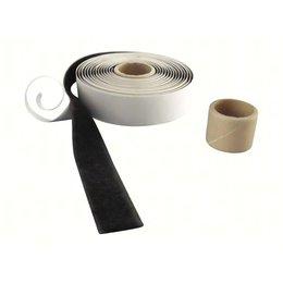 Lusband plakbaar, 20 mm. breed, zwart