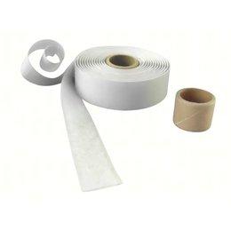 Lusband plakbaar, 25 mm. breed, wit