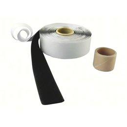 Lusband plakbaar, 25 mm. breed, zwart