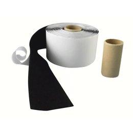 Lusband plakbaar, 50 mm. breed, zwart
