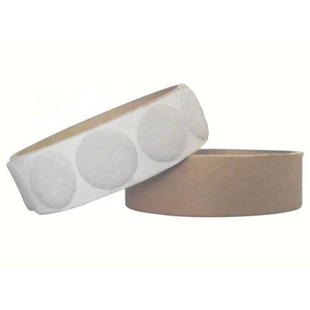 DynaLok Rondjes lusband plakbaar, 22 mm. diameter, wit
