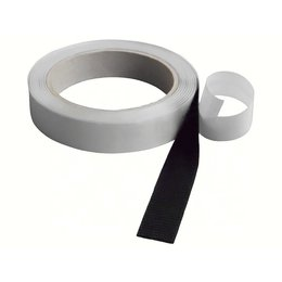 horrengaasband 20 mm., zwart