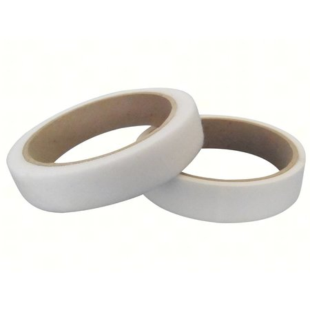 Klittenband Extra Dun Naaibaar (harde + zachte kant), 20 mm., Wit