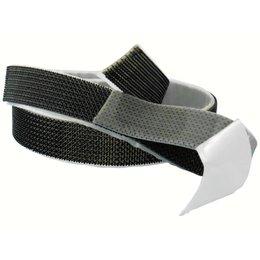 M-Lock Plakbaar (zelfklevend), 25 mm. breed, zwart