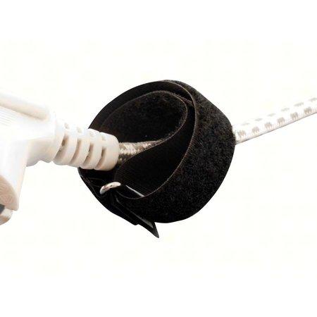 CableStrap kabelbinder, 25 mm. breed met gesp, zwart