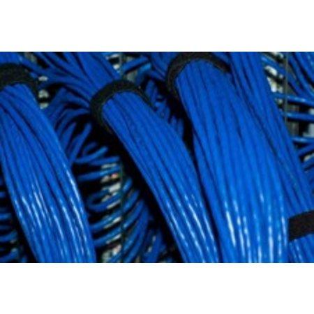Klittenband bundelband soepel, 16 mm. x 25 m., zwart