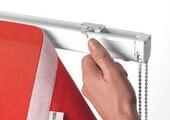 Klittenband voor vouwgordijnen