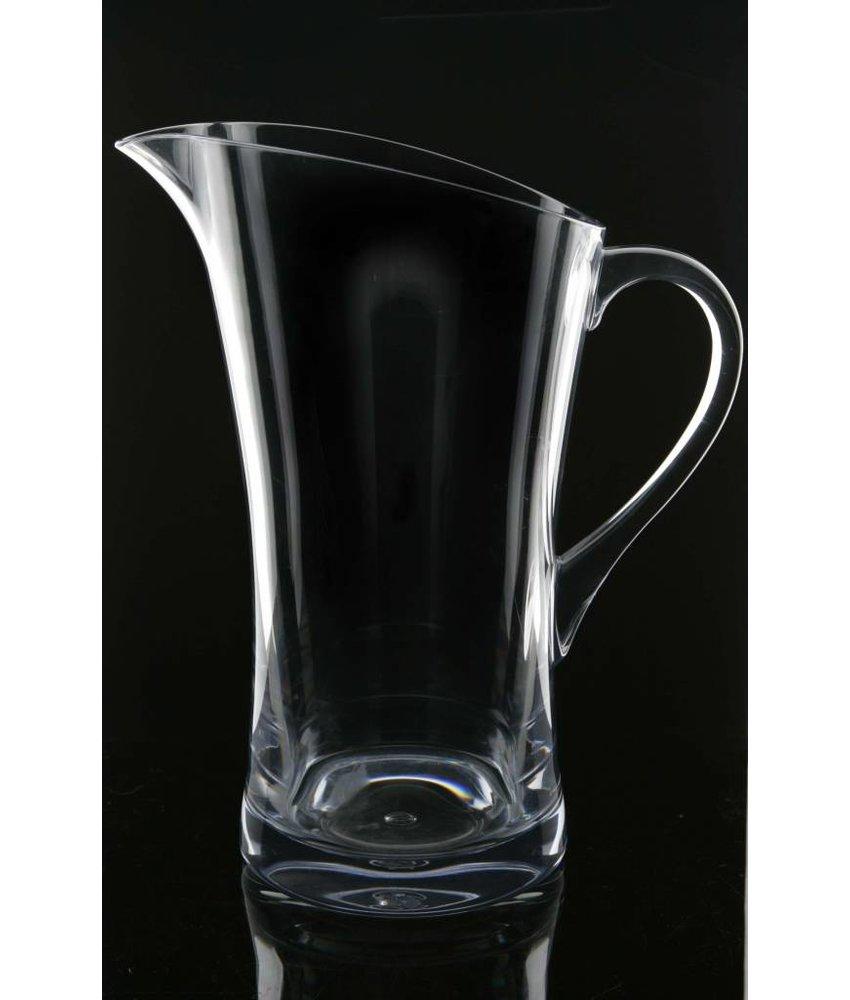 Onbreekbare Design+ Schenkkan 1.8 ltr. Clear. Zeer hoge kwaliteit polycarbonaat