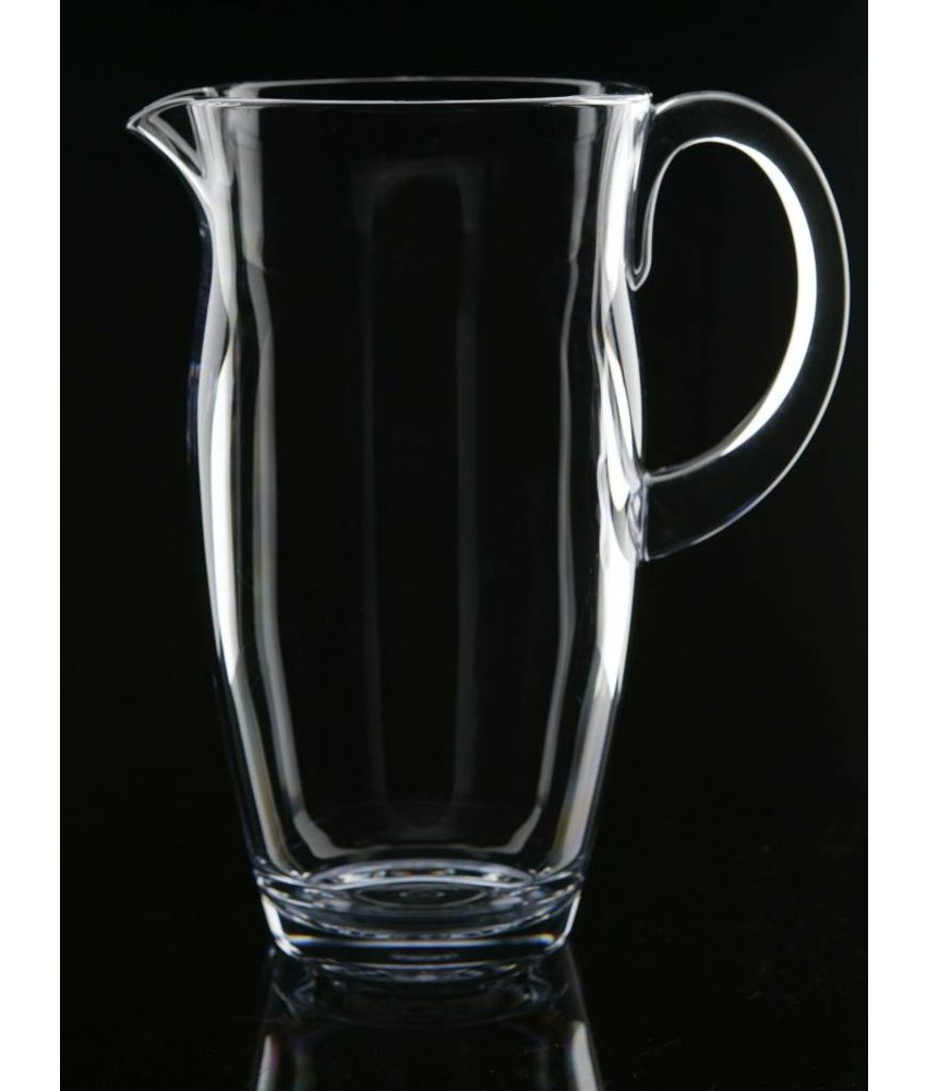 Luxe onbreekbare stijlvolle Schenkkan 1.5 ltr. Clear Strahl Serie: Da Vinci no. 70000