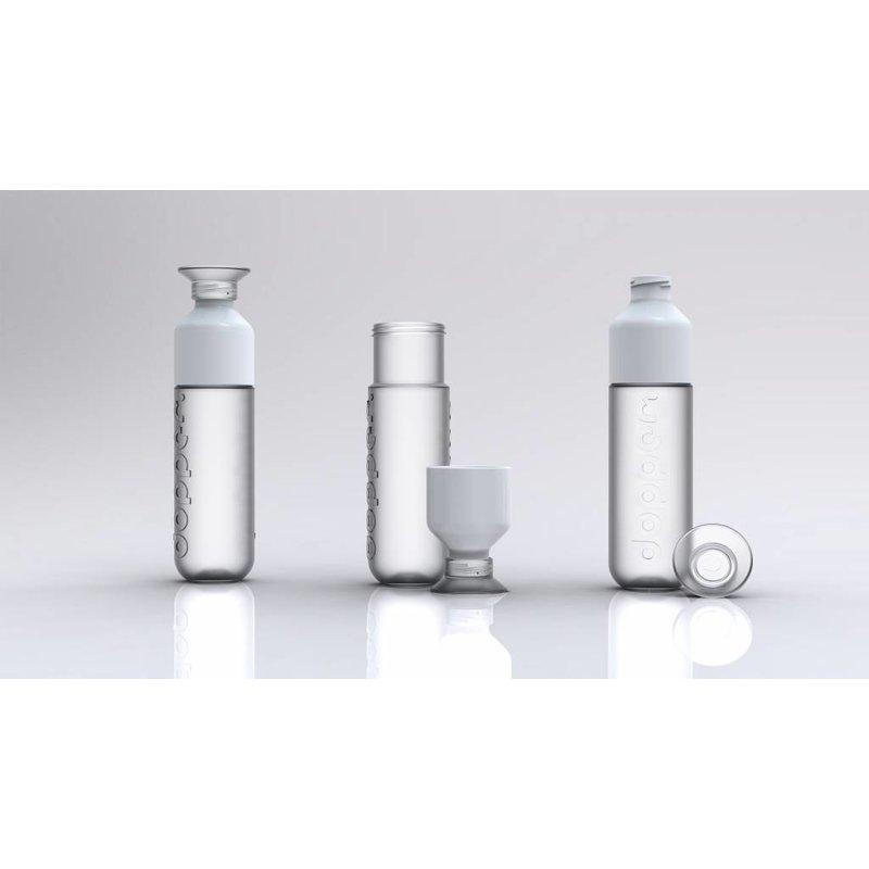 DOPPER WITTE WATERFLES - PURE WHITE - 0.5 ltr.| Het duurzame waterflesje