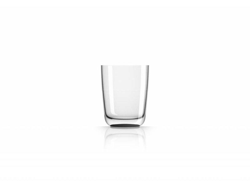 Hoog Glas- Fris / Water / Bierglas onbreekbaar Marc Newson Zwarte voet antislip