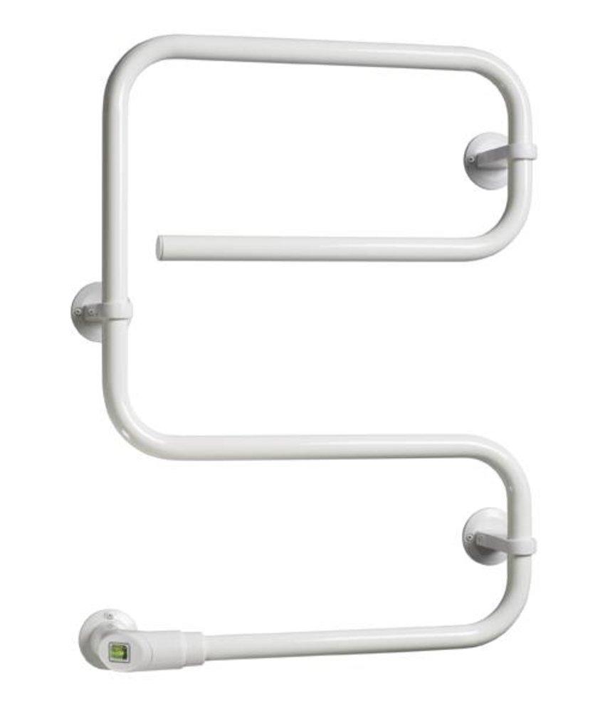 Electrische Handdoekdroger WIT PAX 55 Zonder verzendkosten - 4 stangen