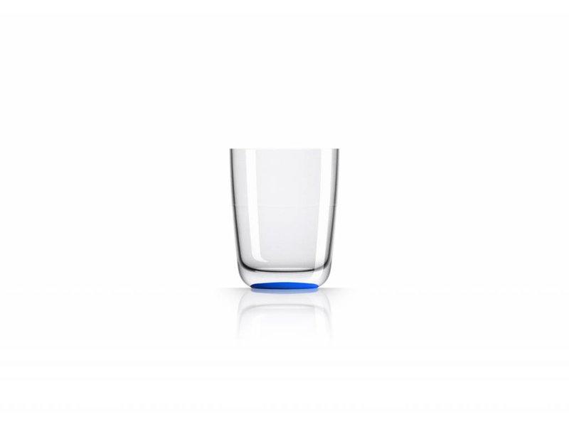 Hoog Glas / Bierglas onbreekbaar Marc Newson NAVY / Donker Blauw voet antislip - TRITAN
