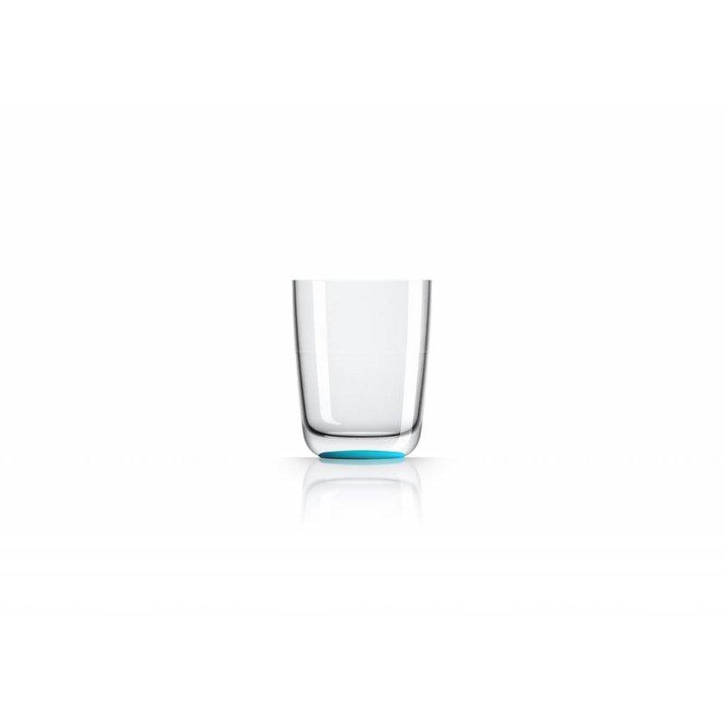 Hoog Glas / Bierglas onbreekbaar Marc Newson Licht Blauw - voet antislip - TRITAN