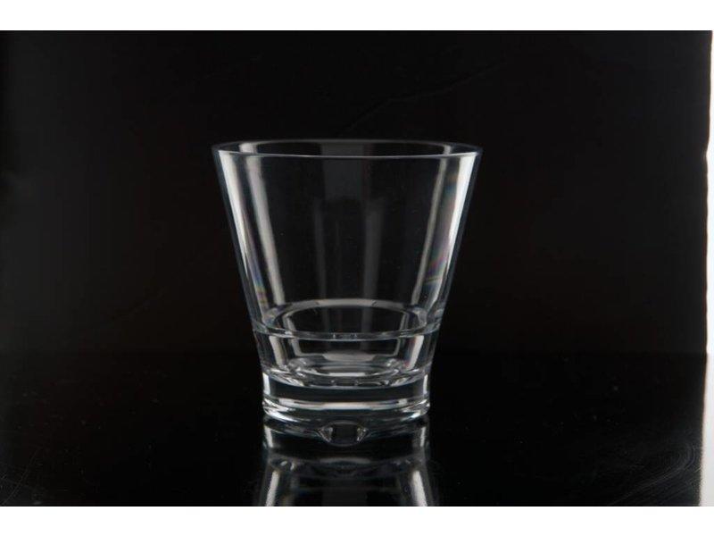 Klein Frisdrankglaasje Wijnglaasje Stapelbaar STRAHL 5 sterren Onbreekbaar 0.14 ltr. Capellastack