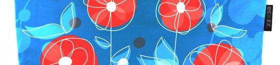 ECOZZ - Designs gesplitst : Happy Poppy / Ornamental / Splash / Nature / Crazy / Monsters