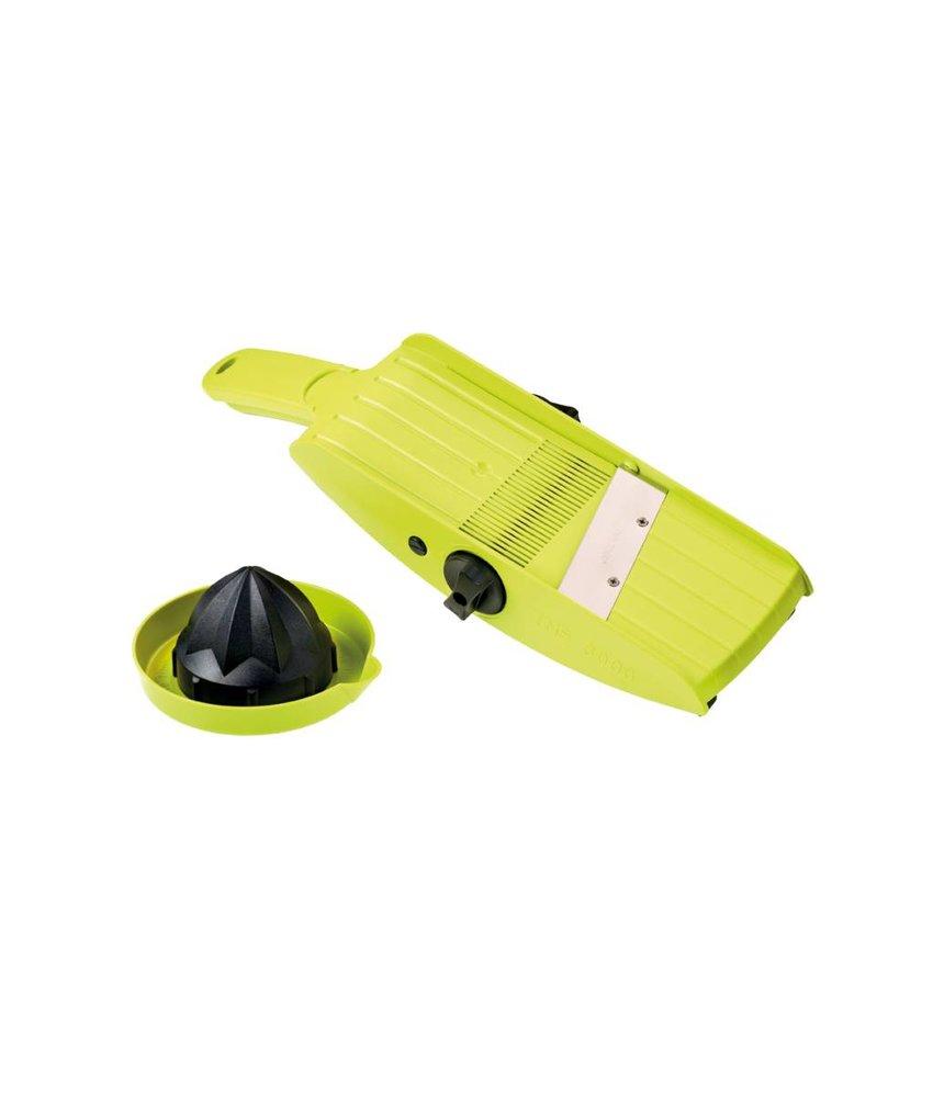 Compacte Alles-in-Éen Schaaf Rasp met 32 instellingen - Lime Groen / Zwart TNS 3000