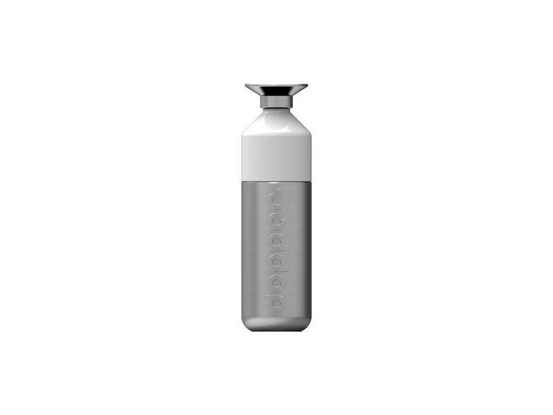 Dopper Steel 800 ml. - Promotie: € 0.50 verzendkosten indien 1 st. - RVS  De grootste waterfles van Dopper