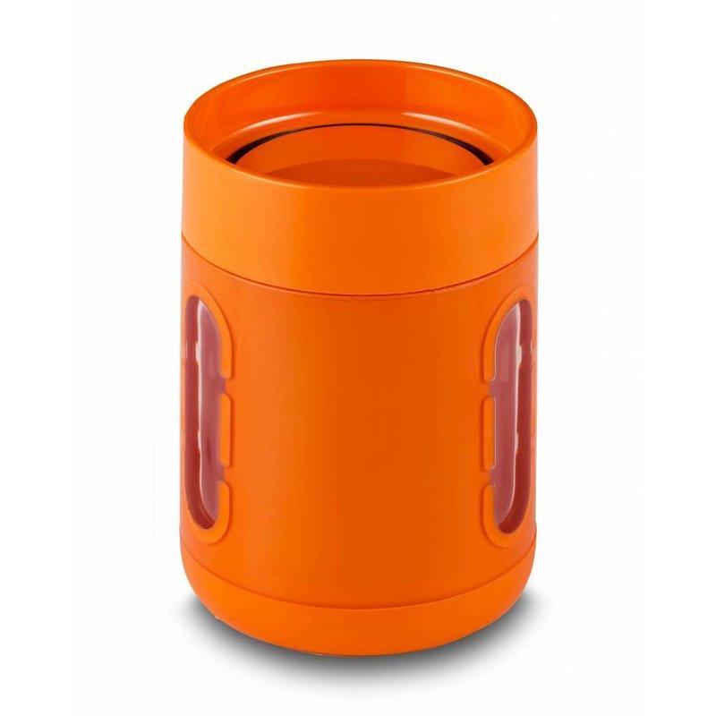 Koffie Mok / Koffie beker / Palm Caffe CUP Antislip bodem - Met Kijkvensters - Kleur Oranje Palm Products