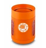 Innovatieve Koffie Mok / Koffie beker - Stijlvol - Praktisch - Antislip bodem - Met Kijkvensters - Kleur Oranje