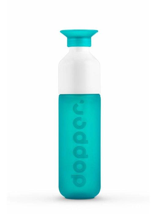 NIEUW !! DOPPER Waterfles kleur: ZEEGROEN ( Sea Green ) 0.45 ltr. Dopper Drinkfles ( Paradise Collection )