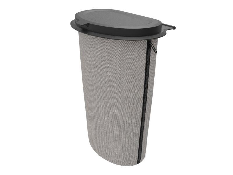 Flextrash Allround Flextrash Afvalbak 9 liter ( L ) Grey / grijs baseline