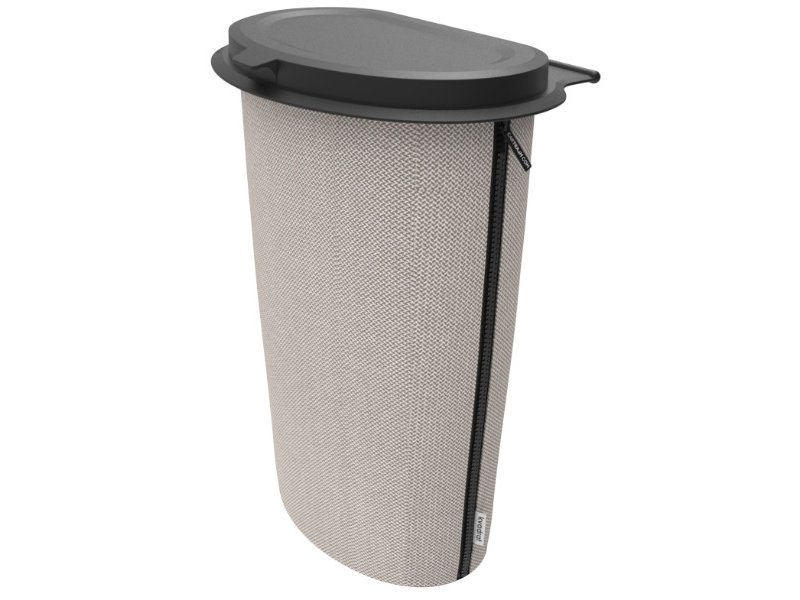 Flextrash Allround Flextrash Afvalbak 9 liter ( L ) Stof: Kvadrat de Luxe Beige