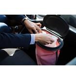 CARTRASH Auto Prullen Afvalbak : COMPLETE KVADRAT DE LUXE - ROSY RED / ROSY ROOD