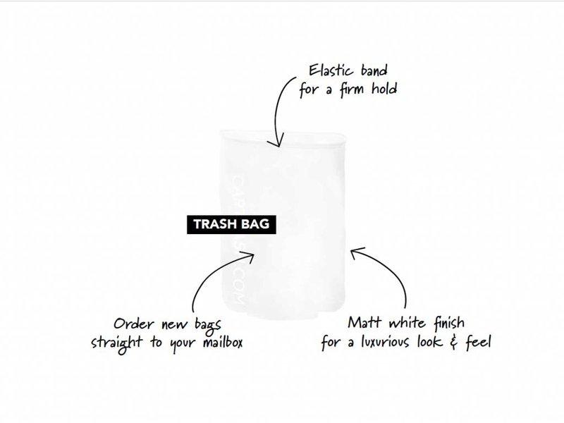 CARTRASH TRASH BIO BAGS (20 STUKS ) / Losse afvalzakjes