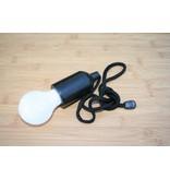 Retro Pull Lamp 1 W ( Trekkoord ) Zwart koord en zwarte fitting
