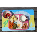 Komplete BamBoo Kinder Eet Set - decoratie: Uilen