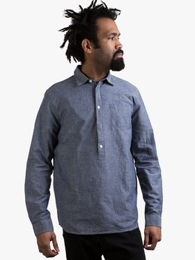 Libertine Libertine Shirt Schnabel Blue Melange