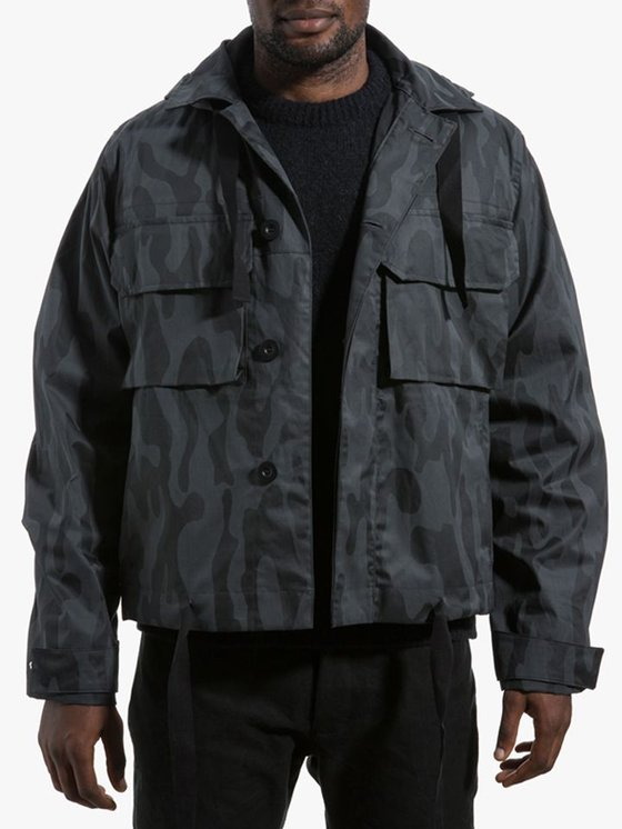 Our Legacy Cropped Artillery Parka